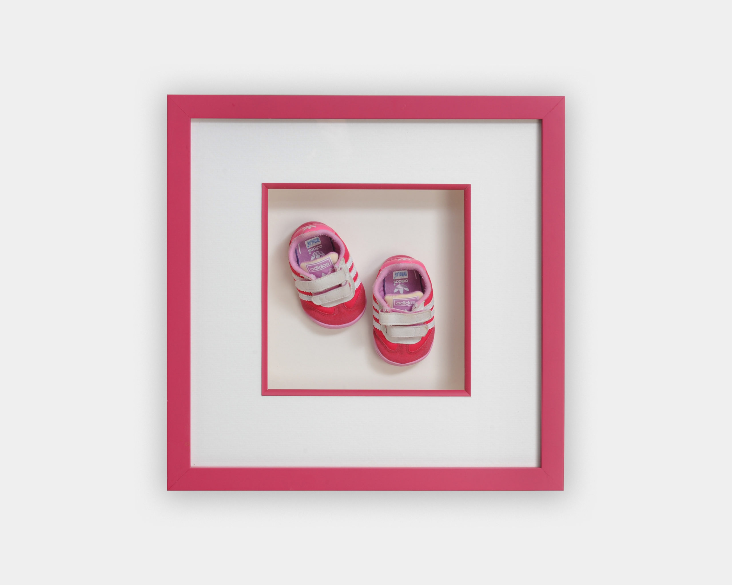 Baby Shoes Framing