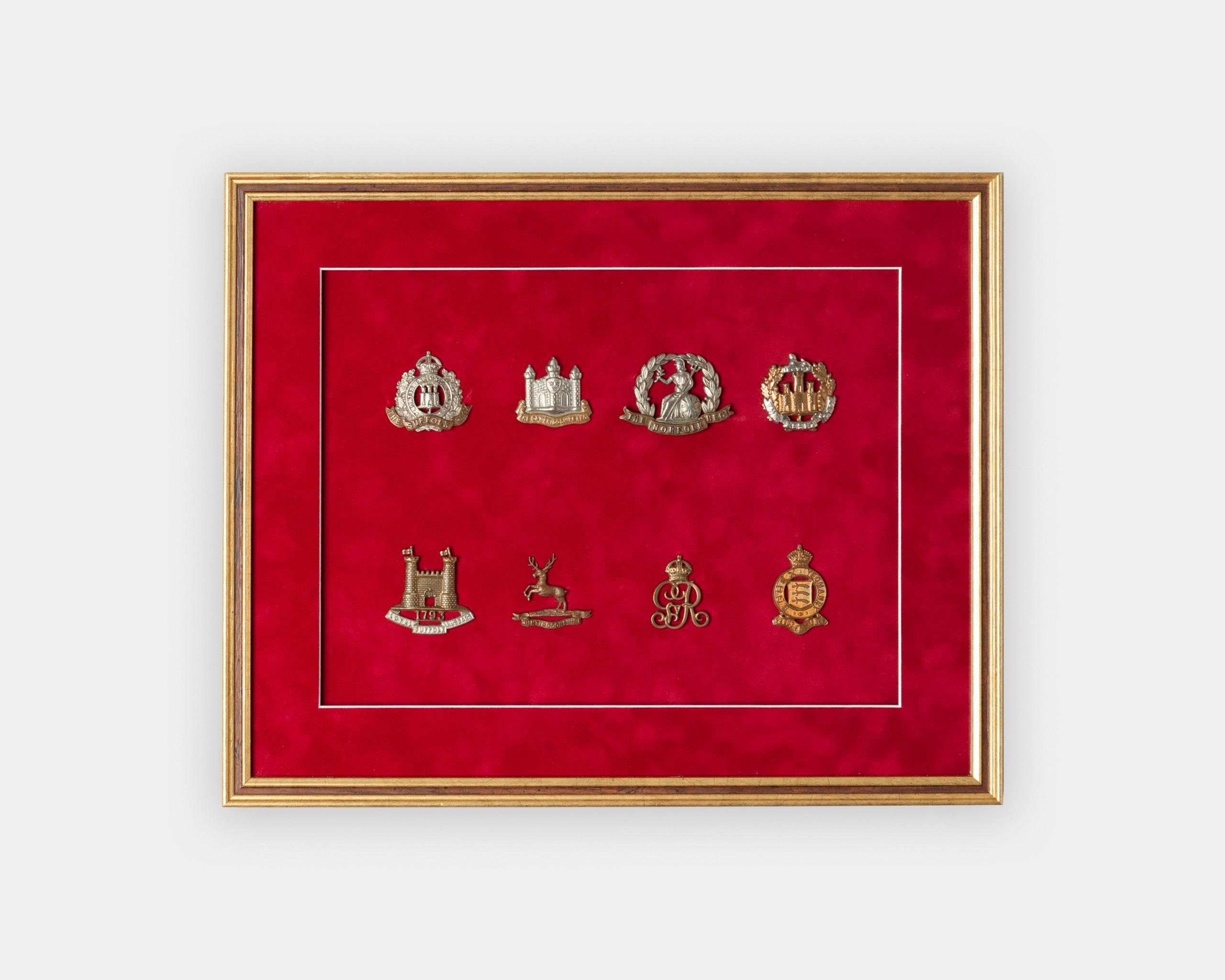 Framed Medal Badges