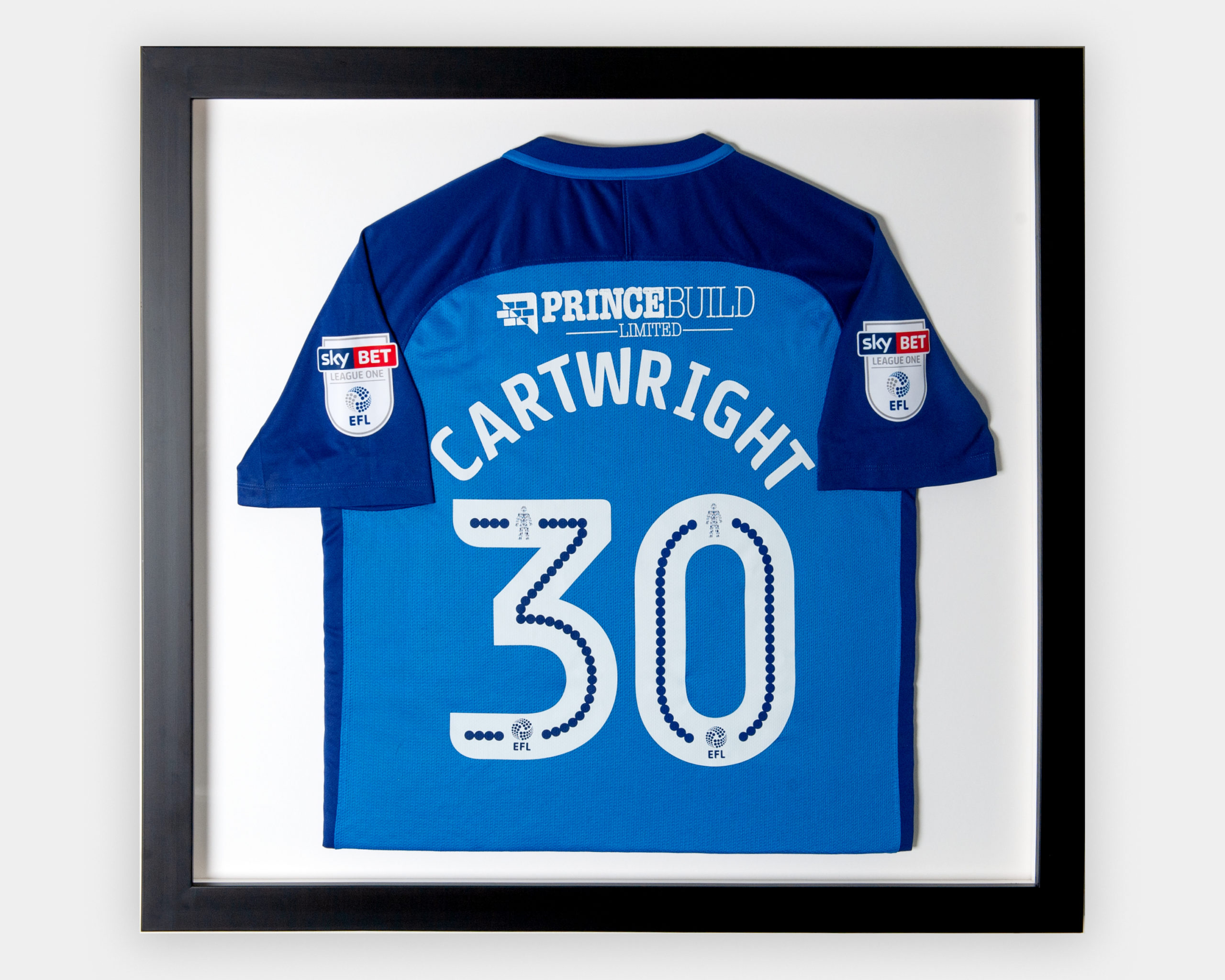 Football Shirt Framed