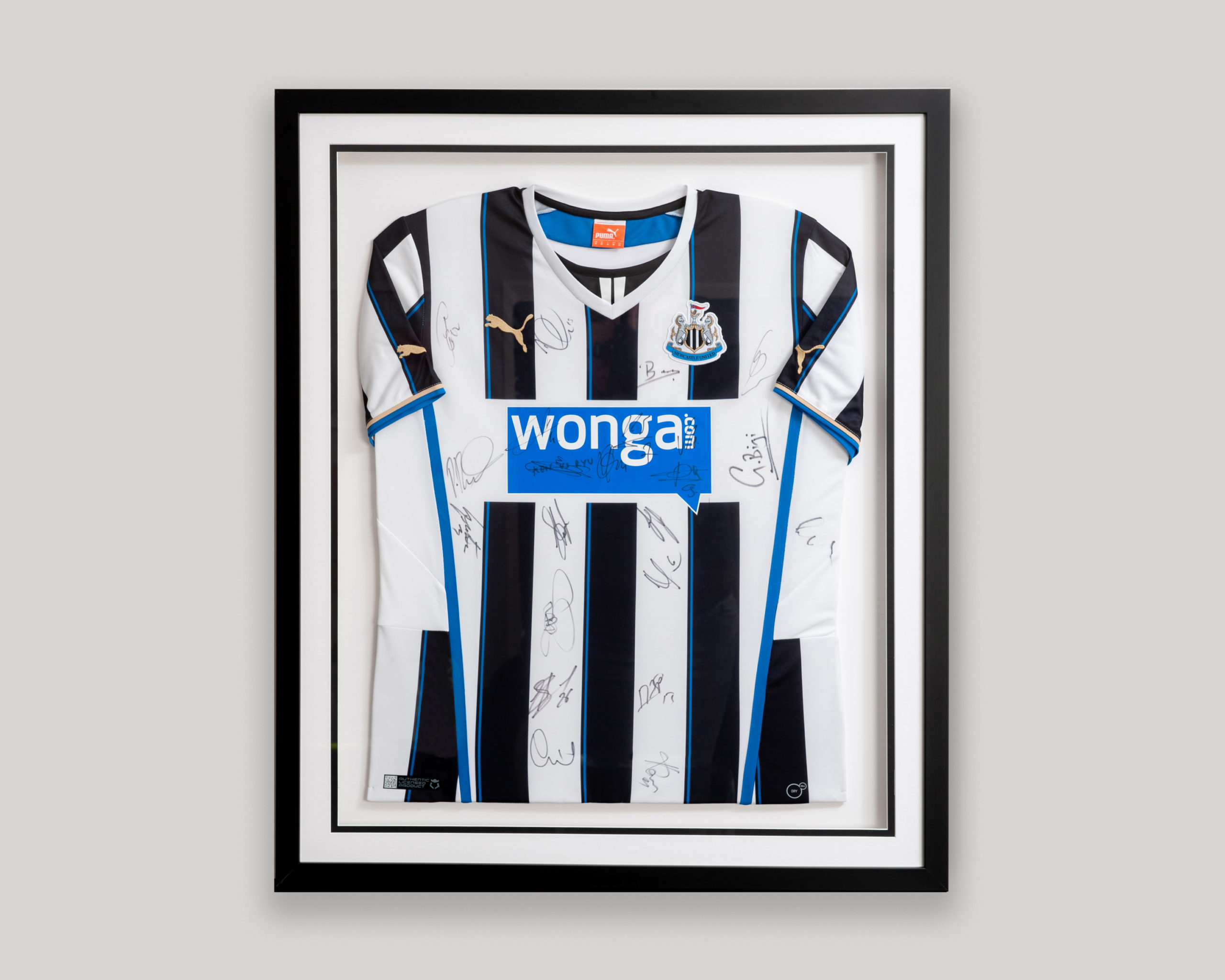 Football Shirt Framing Cambridgeshire
